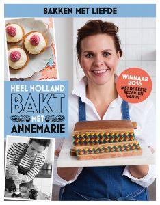 Cover Heel Holland Bakt met Annemarie Pronk 9789021564821