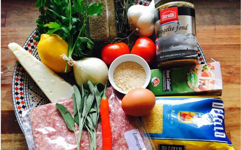 Elske kookt uit Simple Food van Sergio Herman