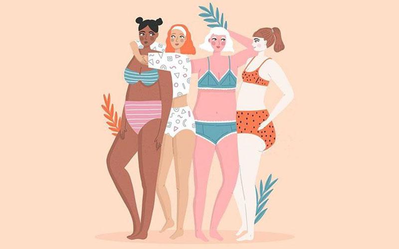 Ode aan je curves: zo word je vriendinnen met je lichaam