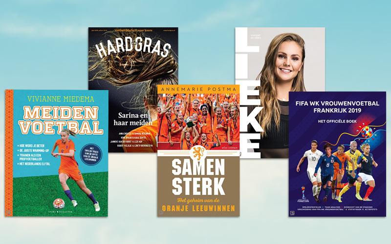 Hup Holland hup! 10 x vrouwenvoetbalboeken