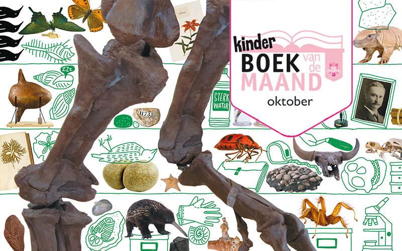 Kinderboek van de maand: Van T. Rex tot tandjesgras
