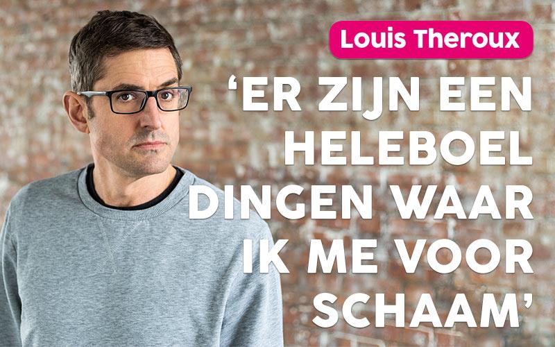 Een persoonlijk gesprek met Louis Theroux over angst, balans en onzekerheid
