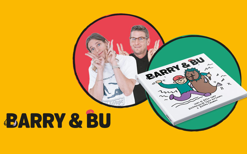 Pepijn Lanen en Steven van Lummel over hun drietalige kinderboek <i>Barry & Bu</i>