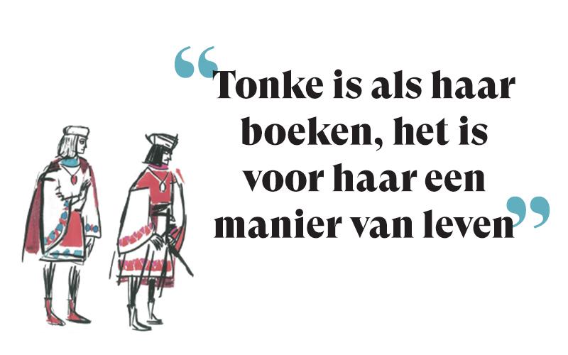 Het bijzondere verhaal van Tonke Dragt