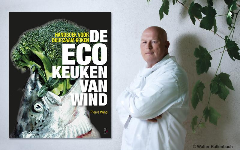 Falafel-bagelburger uit Pierre Winds handboek voor duurzaam koken
