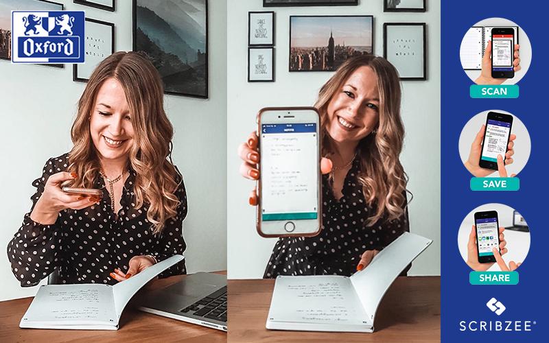 Studeren met Oxford & SCRIBZEE: analoog en digitaal, hand in hand