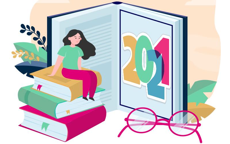2021 wordt jouw jaar (en met dit boekenlijstje al helemaal)