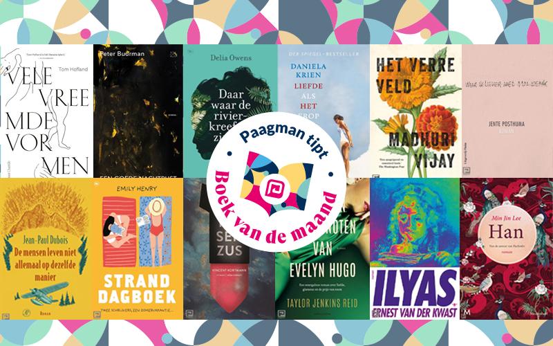 Ons Boek van de maand 2020 overzicht: deze 13 boeken moet je gelezen hebben!